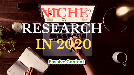 Niche Research Methods