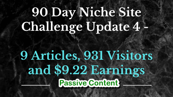 90 Day Challenge Update 4
